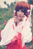 Touhou Project Scarlet Weather Rhapsody Reimu Hakurei Red Cosplay Costume