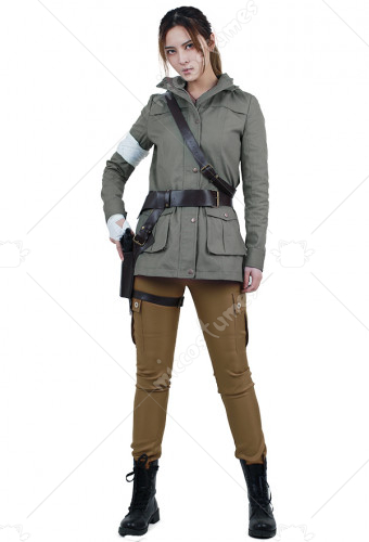 Rise of the Tomb Raider Lara Croft Cosplay Costume with belts set