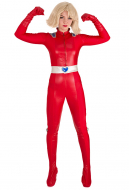 Totally Spies Clover Red Cosplay Costume Bodysuit Jumpsuit