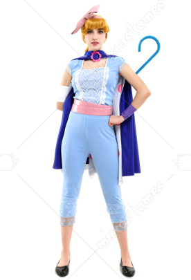 Toy Story 4 Bo Peep Cosplay Costume with Cape