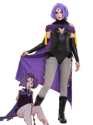 [Miccostumes x SKIRTZZZ] Super Heroine Cosplay Costume Inspired by Raven