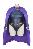 Superheroine Plus Size Halloween Cosplay Costume Inspired by Raven Make to Order