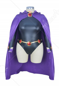 Plus Size Raven Halloween Cosplay Costume