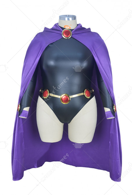 Costume de Cosplay Halloween Superheroine Plus Size Inspiré par Raven Order to Made