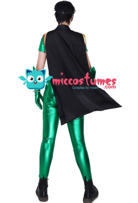 Superhero Cosplay Costume Jumpsuit Inspired by Robin Make to Order