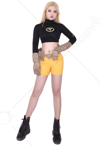 Comics Terra Cosplay Costume