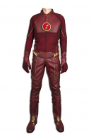 DC Comics The Flash Cosplay Costumes with Removable Hat and Boots