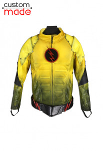 Deluxe Handmade The Flash Reverse-Flash Cosplay Costumes