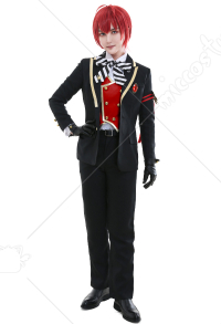 Twisted-Wonderland Riddle Rosehearts Heartslabyul Dorm Uniform Cosplay Costume