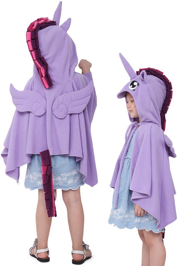 Einhorn Kinder Halloween Cosplay Kostüm Umhang