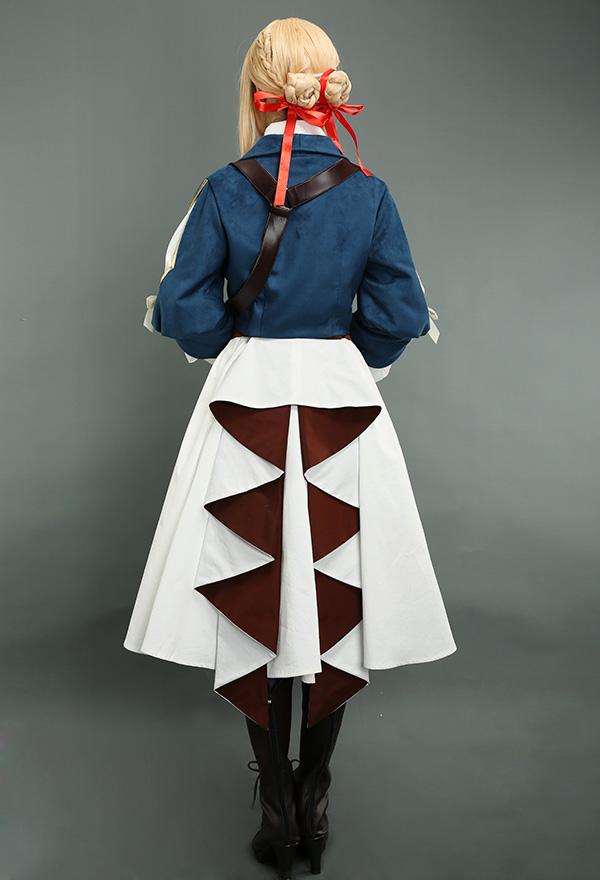 Violet Evergarden Cosplay Kostüm Kleid Komplett Set