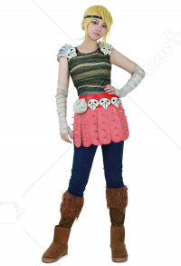 Female Viking Cosplay Costume Inspired by How to Train Your Dragon Astrid Hofferson