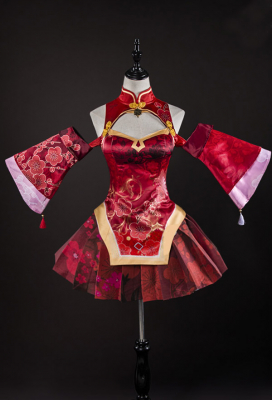 Vocaloid Tougen Renka Cosplay Cheongsam Dress