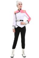 VLD Paladin Team Galaxy Garrison Princess Allura Pink Uniform Suit Cosplay Costume