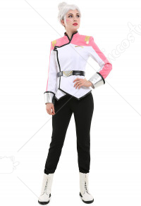 VLD Paladin Team Galaxy Garrison Princess Allura Pink Uniform Suit Cosplay Costume