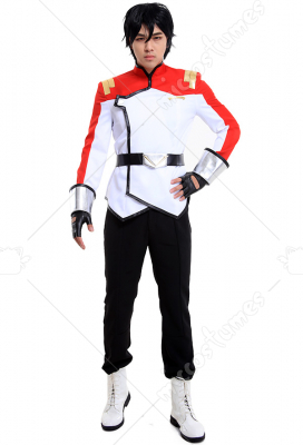 VLD Paladin Team Galaxy Garrison Shiro Lance Pidge Hunk Cosplay Costume Uniform