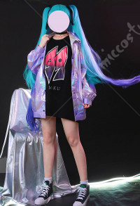 Vocaloid Hatsune Miku 39 Cosplay Costume POP Daily Cyberpunk Tide Outfits