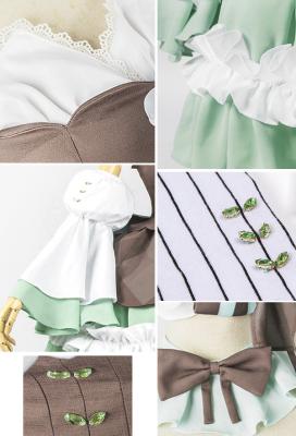 Vocaloid Miku Mint Brownie Fashion Lolita Dress Cosplay Costume