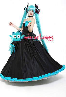 Miku Symphony 2017 Hatsune Miku Cosplay Costume Formal Dress