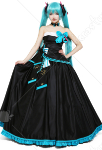 Miku Symphony 2017 Hatsune Miku Cosplay Costume Formal Dress