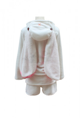 Vocaloid Hatsune Miku Long-sleeve Pajamas Rabbit Ear Cosplay Costume