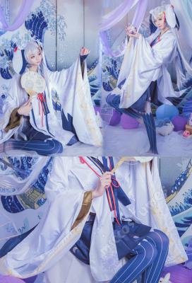 2018 Vocaloid Hatsune Miku Snow Miku Cosplay Costume