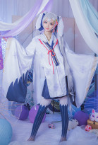 2018   Miku Snow Miku Cosplay Costume