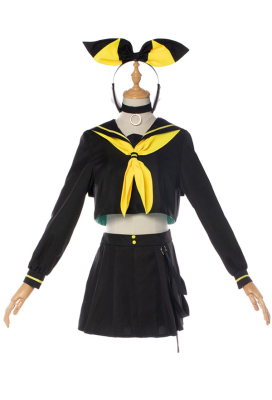 Vocaloid BRING IT ON Rin/Len Rin Kagamine Cosplay Costume