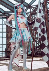 Miku Good Smile Racing Miku 2019 Cosplay Costume