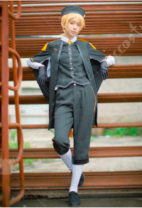 Kagamine Len Cover School Uniform Cosplay Costume