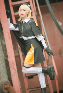Vocaloid Kagamine Rin Cover School Uniform Cosplay Costume