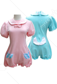 [US Economy Free Shipping] Vocaloid Hatsune Miku Kagamine Rin Sailor Sleepwear Short Jumpsuit Pajamas Cosplay Costume