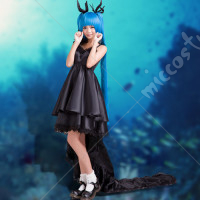 Vocaloid Hatsune Miku Deep Sea Girl Shinkai Shoujo Dress Cosplay Costume