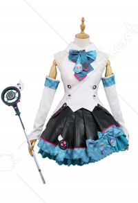 Vocaloid Magical Mirai 2017 Costume de Cosplay Hatsune Miku Ensemble de Jupe