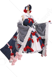 Vocaloid Costume de Cosplay Yuezheng Ling Robe Lolita Blanche-Neige