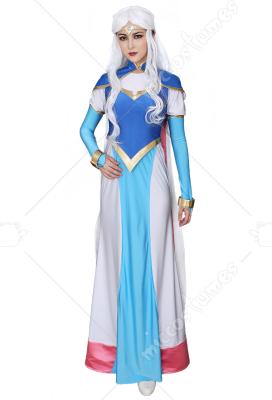 Princess Allura Cosplay Costume Dress