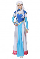 legendario defensor princesa Allura Cosplay vestimenta