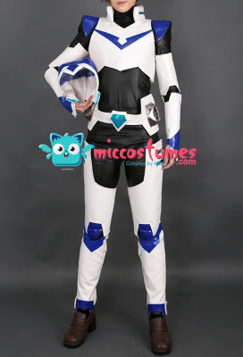 Paladin Team V Shiro Keith Lance Pidge Hunk Cosplay Costume Uniform Bodysuit with Helmet