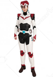 Paladin Team V Shiro Keith Lance Pidge Hunk Cosplay Costume Uniform Bodysuit with Helmet