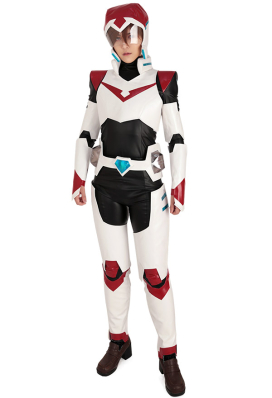 Voltron: Legendary Defender Paladin Team Voltron Shiro Keith Lance Pidge Hunk Cosplay Costume Uniform Bodysuit with Helmet