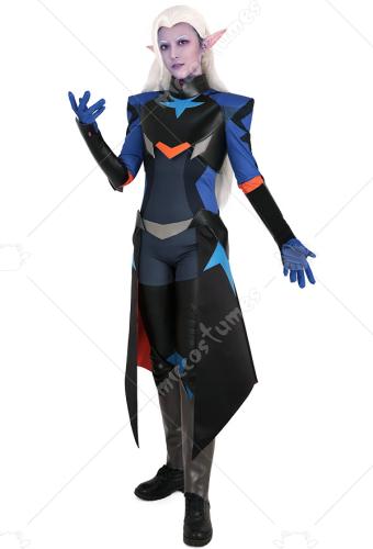 Emperor Prince Lotor Cosplay Jumpsuit Bodysuit Costume