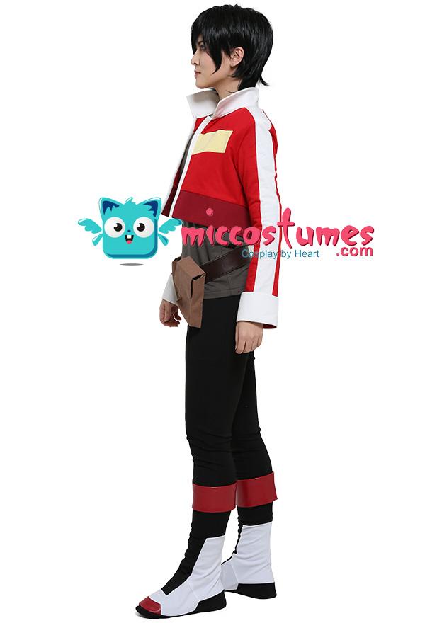 Red Lion Cosplay Kostüm Jacke mit Gürtel