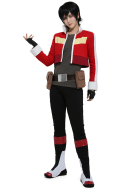 Red Lion Cosplay Costume Jacket with Belt