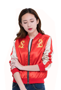 Hua Mulan Baseball Jacket Inspired by Wreck-It Ralph 2 Make to Order
