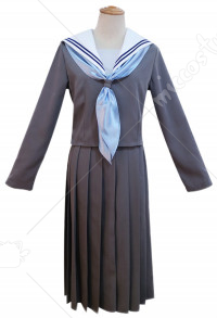 Kyou Kara Ore Wa Riko Akasaka Sailor Collar School Girl JK Uniform Cosplay Costume