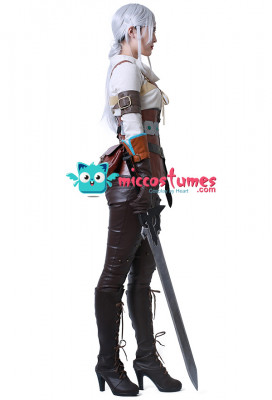 The Witcher 3: Wild Hunt Ciri Cosplay Costume