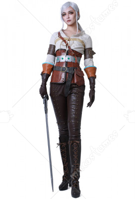 The Witcher 3 Wild Hunt Yennefer Boots Shoes Game Cosplay Costume Halloween