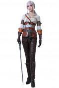 The Witcher 3: Wild Hunt Ciri Cosplay Costume