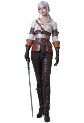 The Witcher 3: Wild Hunt Ciri Cosplay Kostüm