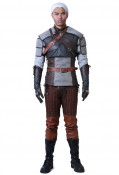 The Witcher 3: Wild Hunt Geralt of Rivia Cosplay Costume